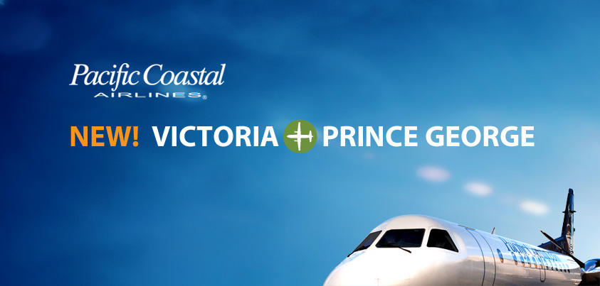 New Service Between YYJ and YXS